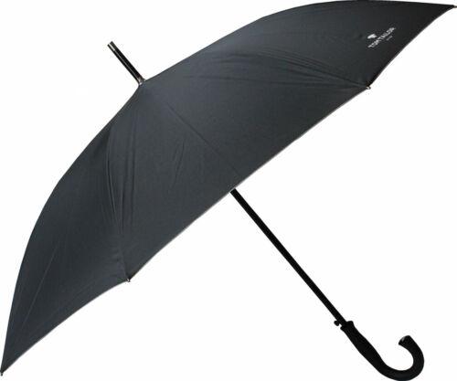 Tom Tailor Regenschirm Stockschirm Schirm Partnerschirm Automatik schwarz neu