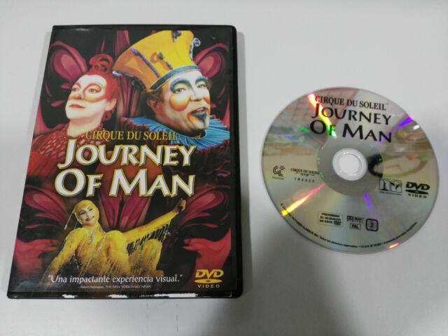 CIRQUE DU SOLEIL JOURNEY OF MAN DVD CASTELLANO + EXTRAS 2000 SONY