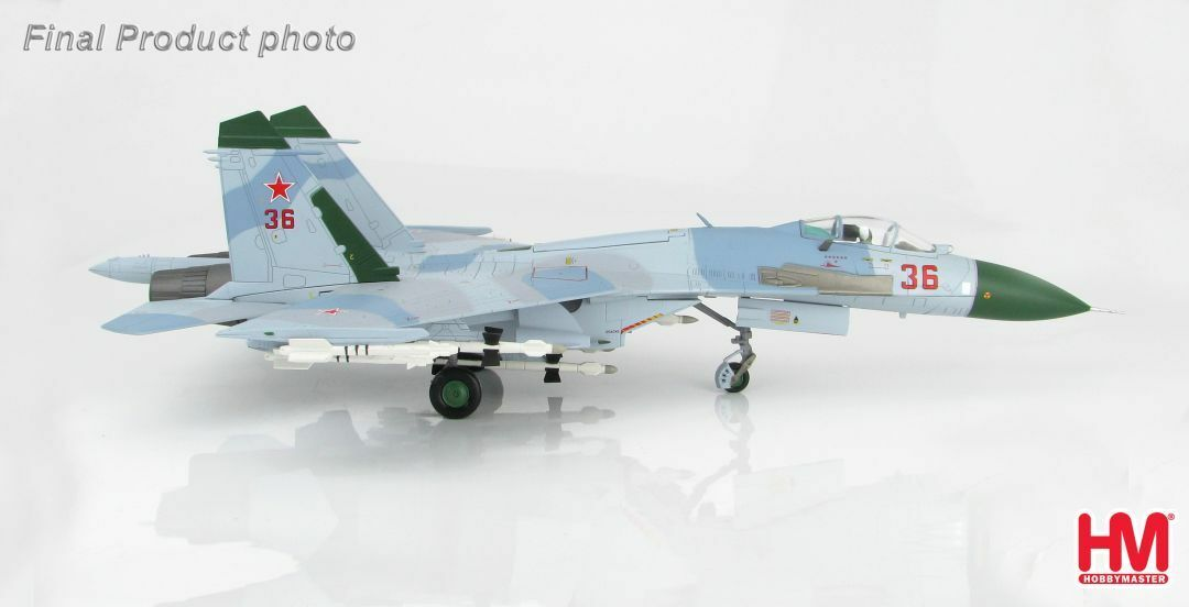 Hobby Master Master Master HA6001, Su-27 Flanker B (Early Type), Red 36, Russian Air Force 9eaaea