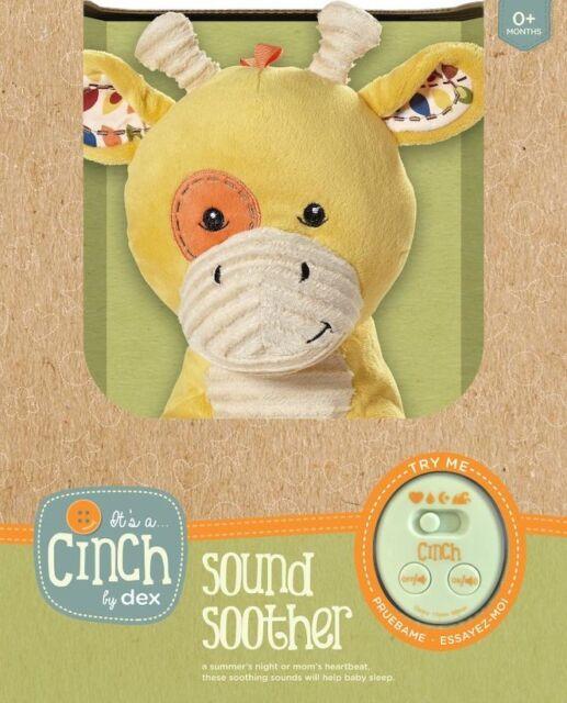 Sleep Aid Womb Sound Soother w//Playard Att. Cinch by dexbaby Plush Mini Giraffe