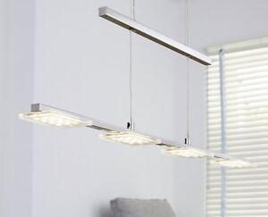 Led Pendelleuchte 4flmg Hangeleuchte Esszimmer Lampe Wofi Darwin