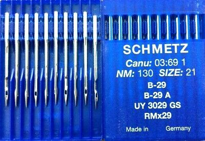 SCHMETZ  CANU37:92FB NM:70//027 SYSTEM:UY121 GUS INDUSTRIAL SEWING MACHINE NEEDLE