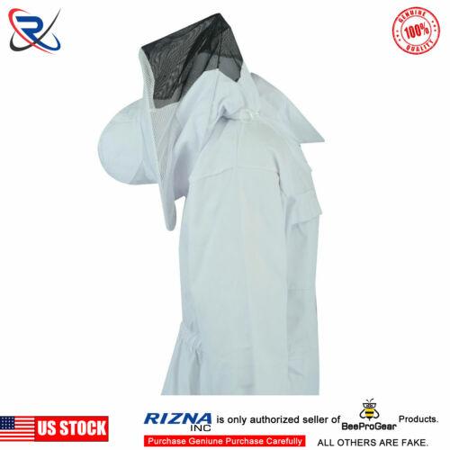 2XL #SP06 Select Bee Clothing Beekeeping Beekeeper Jacket Round Veil Full Suit