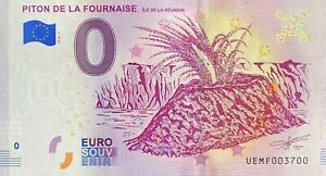 BILLET-0-EURO-PITON-DE-LA-FOURNAISE-LA-REUNION-FRANCE-2018-NUMERO-3700