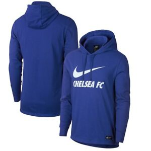 5dba0127dca4d NWT NIKE CHELSEA FC NSW Jersey Club Mens Pullover Hoodie Jacket ...