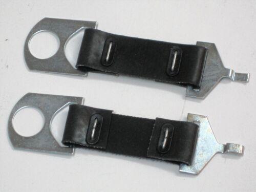 Norton Commando battery straps 06-1662 rubber strap set 750 850 1971 72 73 74