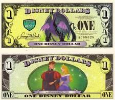 Disney Dollar 2013 banknote - Sleeping Beauty unc
