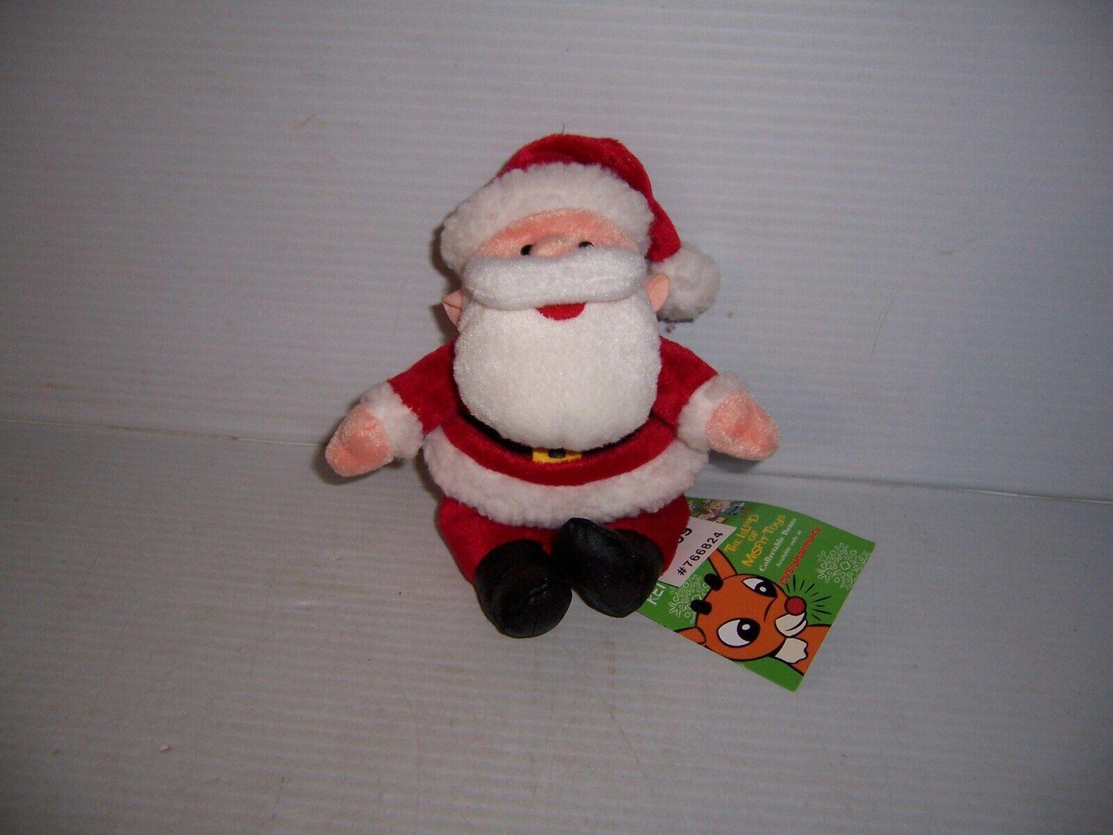 1998 Stuffins CVS Rudolph Island of Misfit Toys Santa Claus 7  Plush NWT