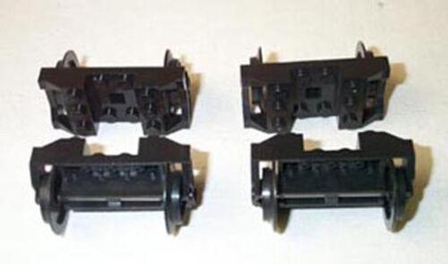4 lego ® ferrocarril ejes 9 voltios