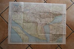 Cartina Africa In Italiano.Antica Cartina Geografica Touring Club Italiano Africa Orientale Eritrea Etiopia Ebay
