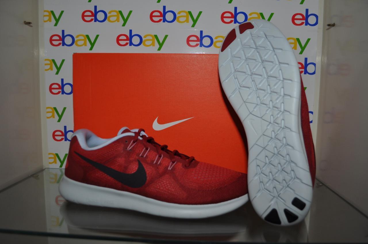 best loved 0d8a3 2d004 Nike Free Run Run Run 2017 Mens Running Shoes 880839 602 Red White Black