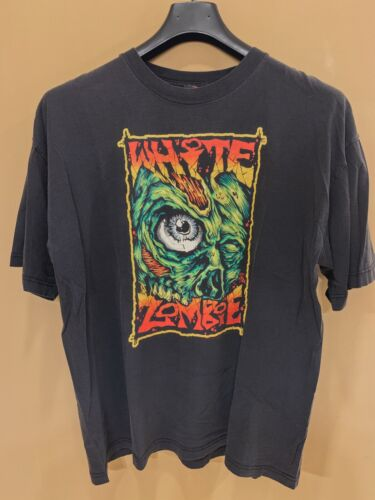 Vintage White Zombie Shirt Men's XL Rob Zombie