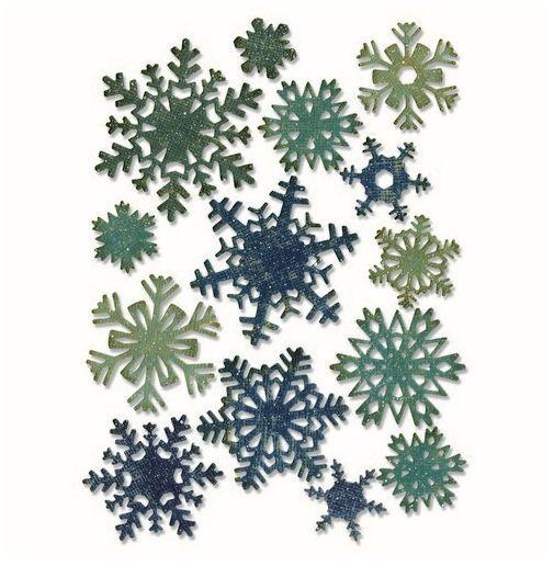 Sizzix Thinlits Die Set - Paper snowflakes mini 14PK 661599 Tim Holtz