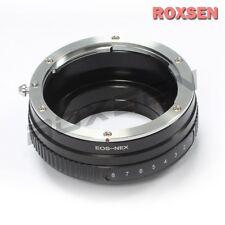 Tilt Canon EOS EF EF-S Lens To Sony E Mount Adapter NEX-7 6 5T A6000 A5000
