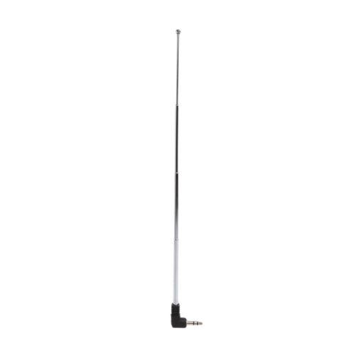 3.5mm Radio Receiver Antenna Stainless Steel Multi-Purpose Interface FM Radio