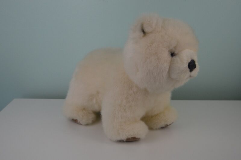 Avanti Baby Animals Plush Stuffed Sandy Bear Cub Item 1043 Polar Vintage 1985