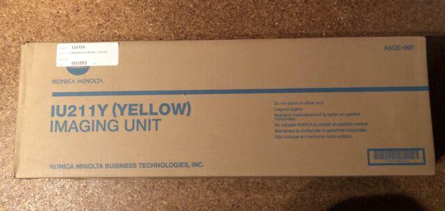 Konica Minolta Toner Kassette A0DE06F / IU211Y Gelb - Yellow Neu & OVP