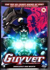 Guyver - The Bioboosted Armour Vol.4: Innocence & Wrath (2007 DVD) Region 2, VG