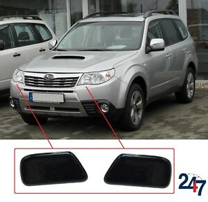Image Is Loading New Subaru Forester 2009 2017 Headlight Washing Covers