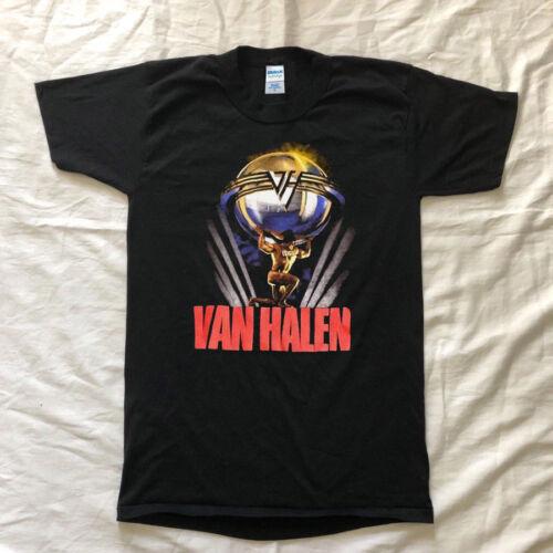 Van Halen 5150 Tour Concert 1986 T-Shirt Top Reprint New Limited edition