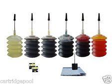 6X30ML Refill ink kit for Kodak 10 : EasyShare 5100 5300 5500 printer + 2Chips