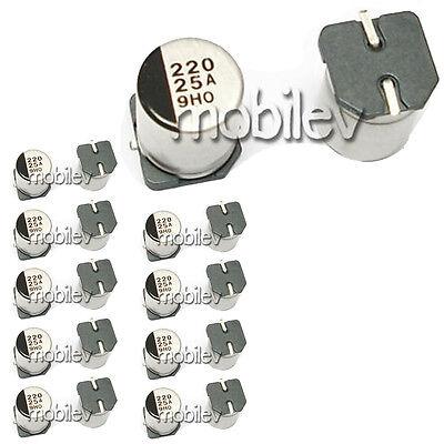 35 V V-Chip SMD VT SMD Aluminium Electrolytic Capacitor 220 µF Radial Can