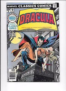 Marvel-Classics-Comics-9-Dracula-Illustrated-1976