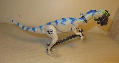Jurassic Park Lost World Dilophosaurus Dinosaur w// Capture Gear Complete JP69
