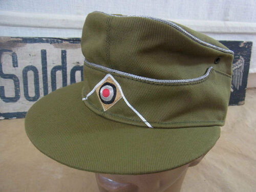 Gr.59 Afrikakorps Offizier Lubstein Tropenmütze Feldmütze DAK tropical field cap