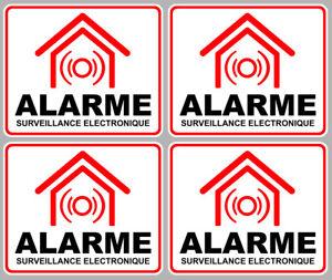 SET-DE-4-SURVEILLANCE-ELECTRONIQUE-ALARME-CAMERA-SECURITE-8X6-5-STICKER-AA133