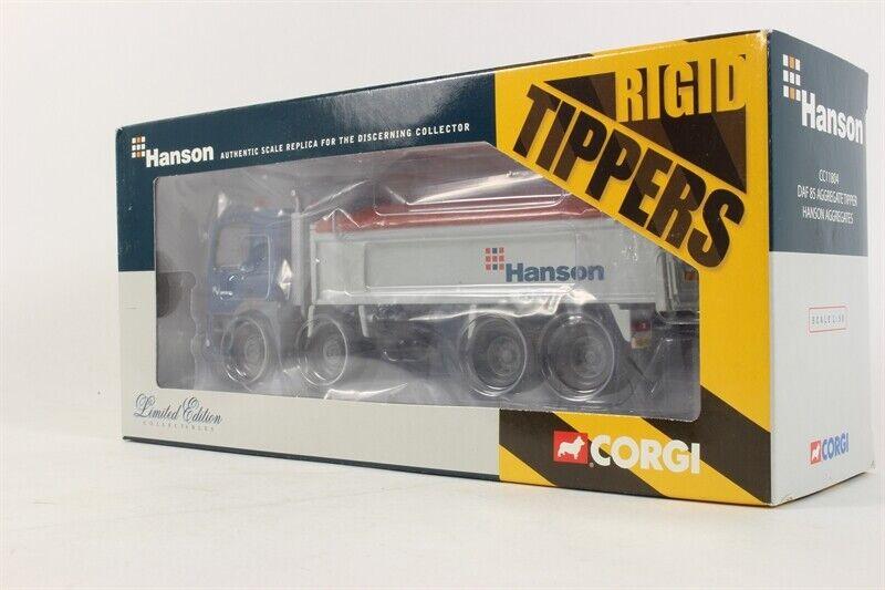 Corgi Modern Heavy Haulage CC11804  DAF 85 8 WHEEL TIPPER HANSON 1 50 Scale