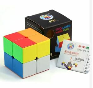 Shengshou-Gem-2x2x2-Speed-Rubik-039-s-Cube-Stickerless