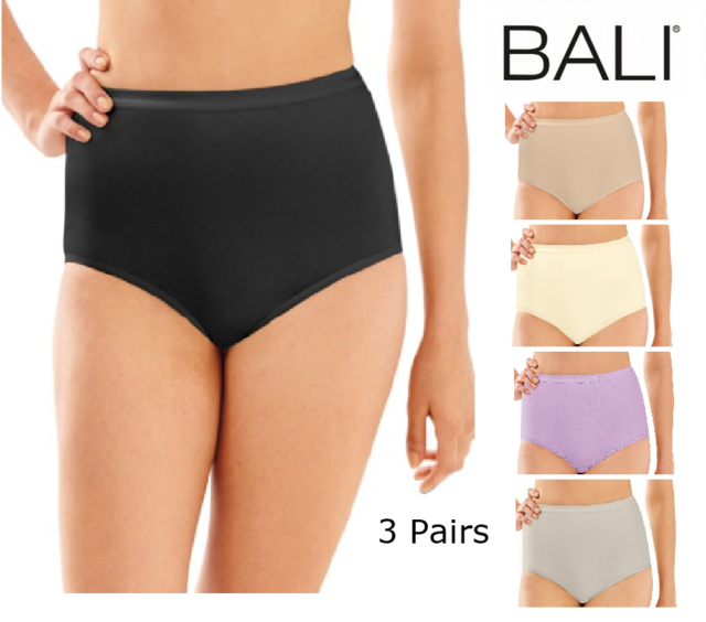 2324 Bali Full-Cut-Fit Stretch Cotton Brief