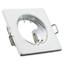 Square Ceiling White Downlights Halogen Spotlights Frame 10x