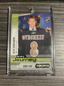 2019-20 Upper Deck Synergy Alex Ovechkin NHL Journey ROOKIE DRAFT DAY Caps /999