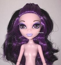 Monster High Ghouls Getaway Elissabat Nude Vampire Fashion Doll NEW to OOAK Play