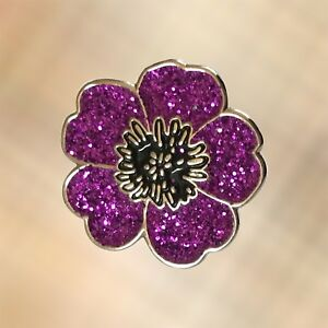 ad5bd4e5f55 NEW Mini 2019 Purple Poppy 'Animals Of War' Charity Lapel Badge Pin ...