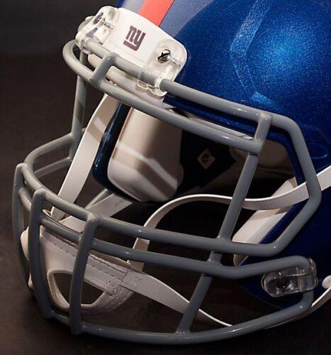 GRAY NEW YORK GIANTS Riddell Speed S2BD-SP Football Helmet Facemask//Faceguard