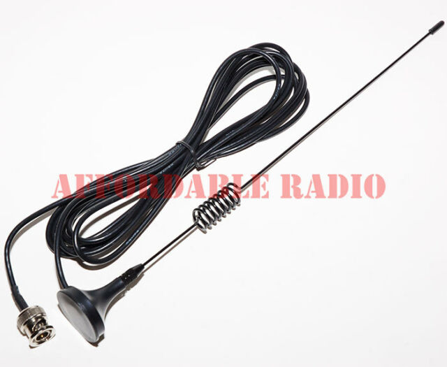 800 MHz scanner antenna mini magnet mount BNC for Motorola mobile radio 11