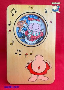 ZIGGY-byTom-Wilson-portafoto-in-legno-soggetto-dipinto-originale-1982-Mondadori