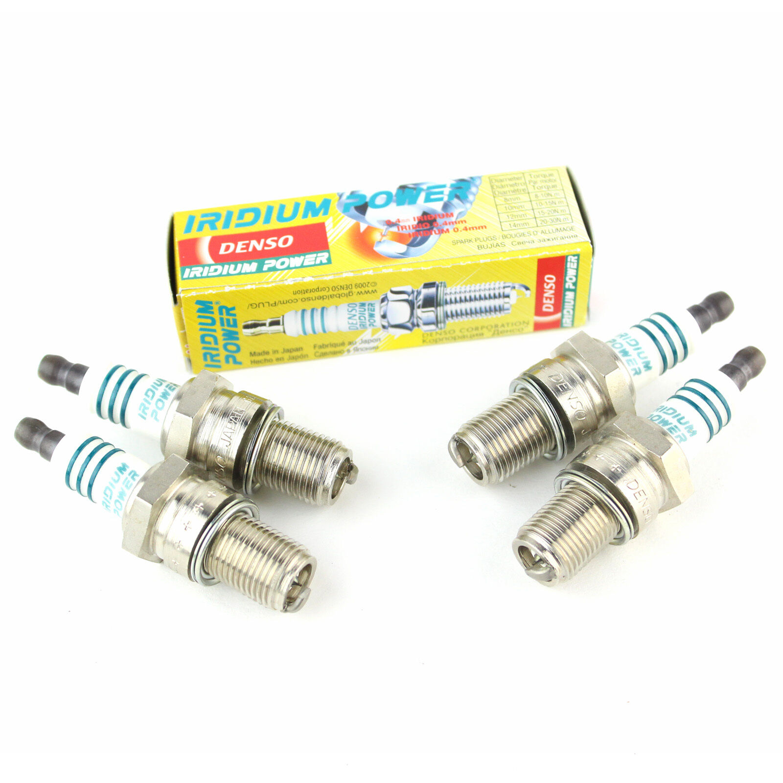 4x Fiat Tipo 160 1.8 IE Genuine Denso Iridium Power Spark Plugs