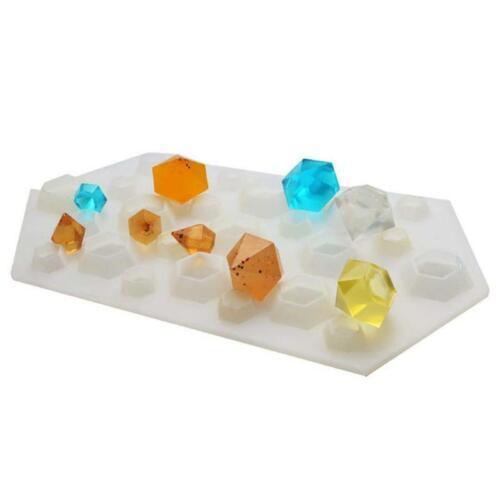 Diamant Diy Silikon Schablone Handwerk Form Form Halskette Schmuck Harz O5D2