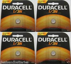 4 duracell dl1 3n cr1 3n 2l76 3v lithium batteries ebay. Black Bedroom Furniture Sets. Home Design Ideas