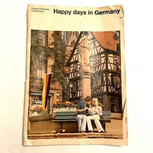 Happy Days In Germany Federal Republic Of Book Booklet Travel History
