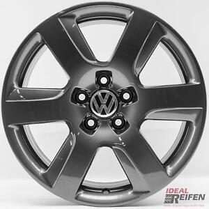 4-VW-PASSAT-3g-B8-17-Pulgadas-Llantas-de-aluminio-8x17-Et39-original-Audi