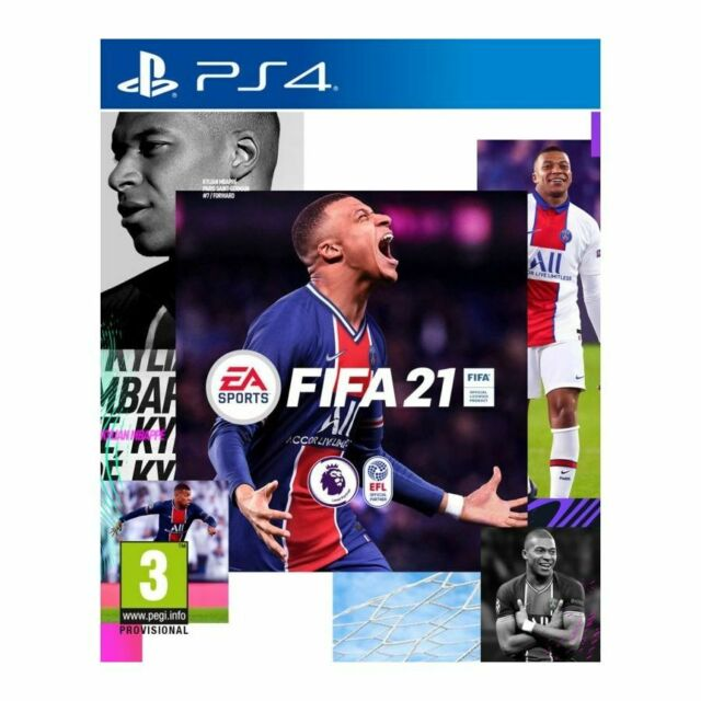 FIFA 21 (PS4)  PRE-ORDER - RELEASED 09/10/2020 - BRAND NEW AND SEALED