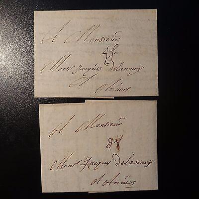 Creatief 1681 Lettre Lille Pour Anvers Avec Taxation DiffÉrente En Deniers Et En Stuivers Van Hoge Kwaliteit