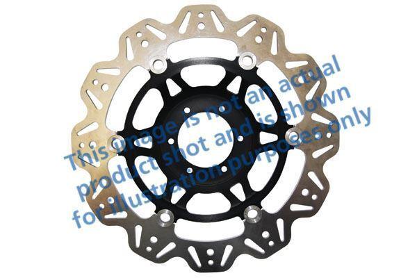 Pour Suzuki Gsxr 1000 K1 / K2 01>02 EBC VR Disque Noir Central Moyeu / Uni avant