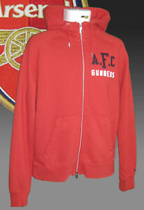 4431a19ce New NIKE NSW ARSENAL Football AW77 Superior ZIPPED HOODIE JACKET Red ...