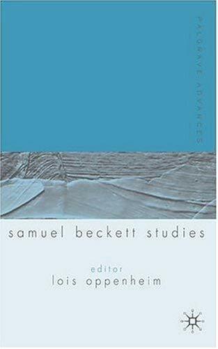 Palgrave Advances in Samuel Beckett Studies by Oppenheim, Lois-ExLibrary